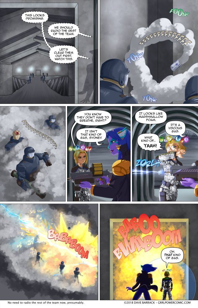 Grrl Power #622 – Whatever the opposite of Gas-X is