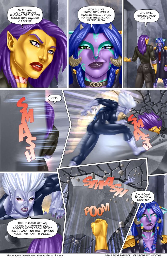 Grrl Power #625 – Uncivil engineering