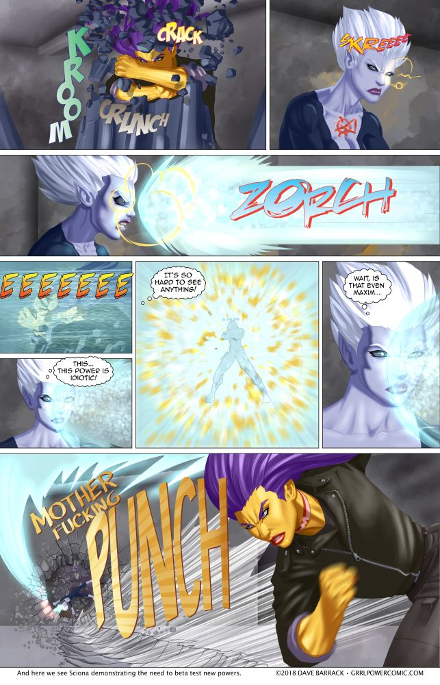 Grrl Power #628 – Maxima's MFP attack