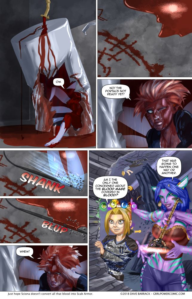 Grrl Power #629 – Dammed blood