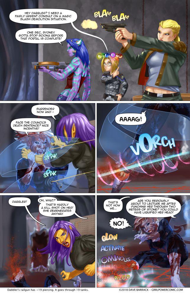 Grrl Power #632 – The peg-legginator