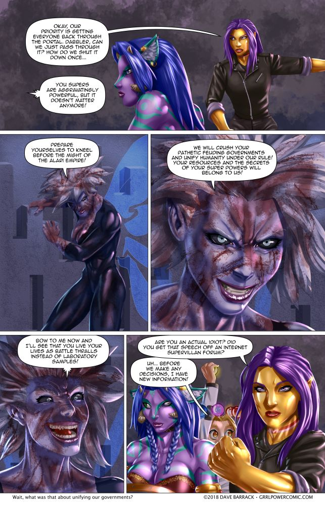 Grrl Power #636 – Promises promises