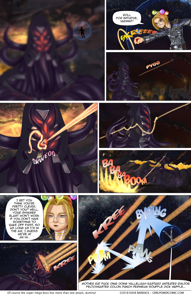 Grrl Power #658 – Round 1 Fight!