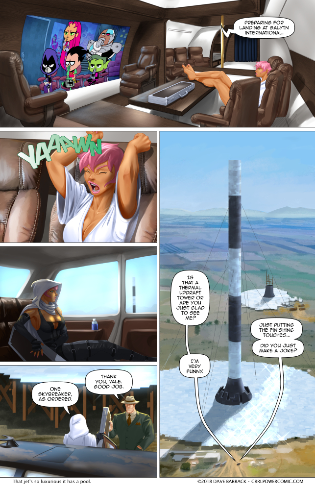 Grrl Power #663 – Executive class