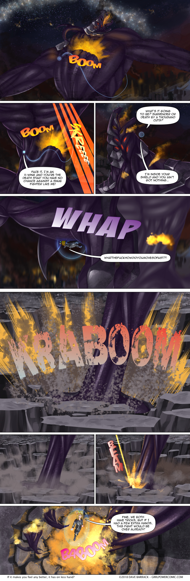 Grrl Power #665 – Rock paper particle beam