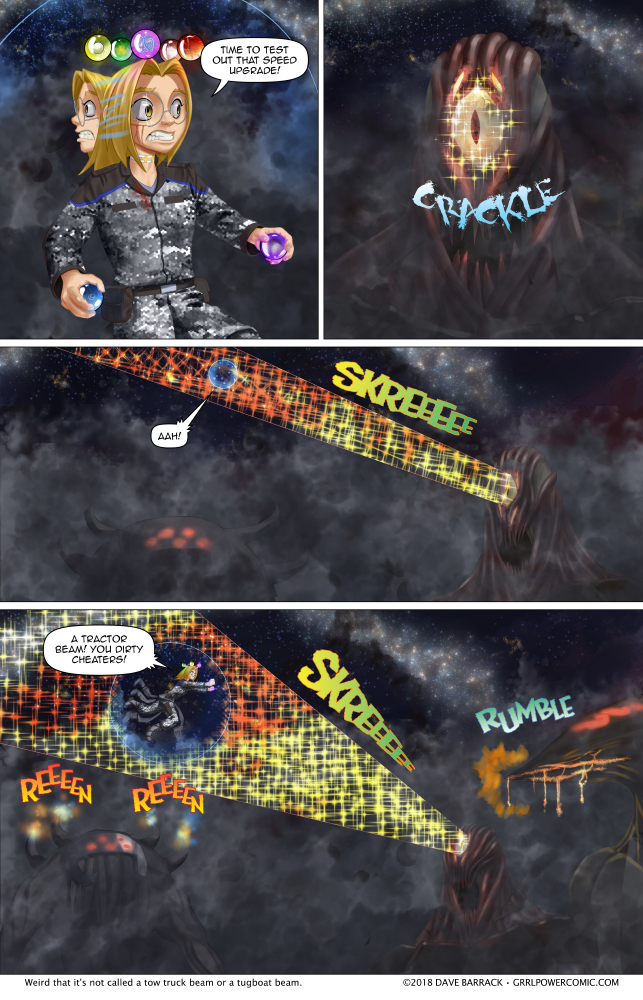 Grrl Power #668 – All's fair in love and kaiju battle royale