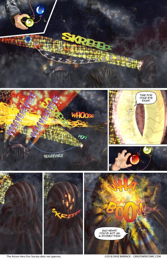 Grrl Power #669 – Particle beam-ik