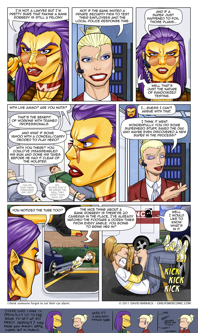 Grrl Power #58 – I'm sure she's not the only one