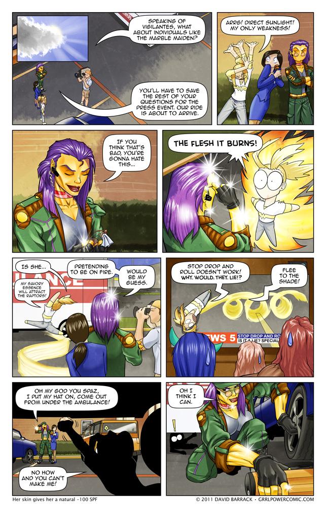 Grrl Power #65 – A slight overreaction
