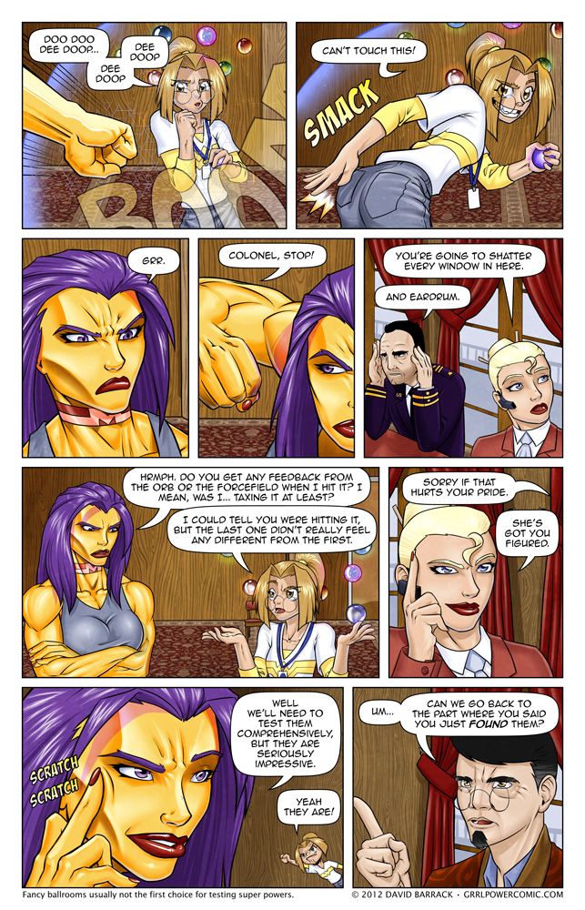 Grrl Power #93 – Sydney is the only person to get away with this