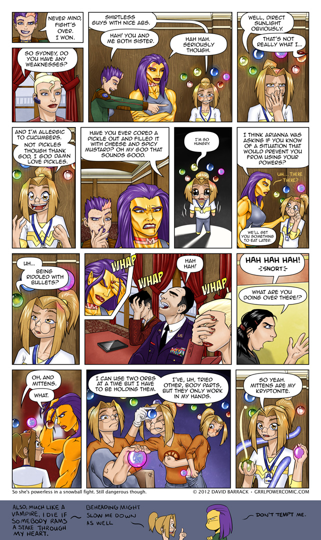 Grrl Power #98 – Triple facepalm and a sidebutt