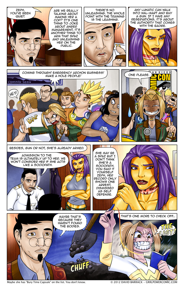 Grrl Power #115 – Reservations for two