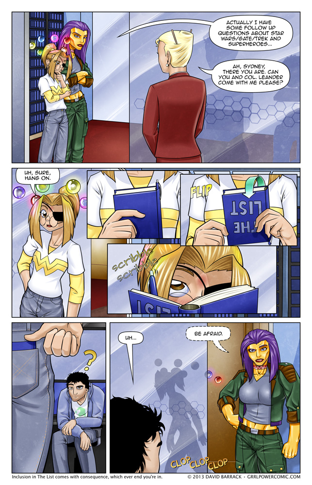 Grrl Power #124 – The List is doing double duty