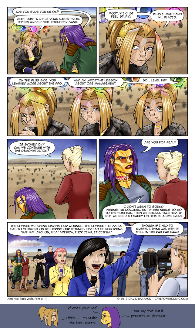 Grrl Power #169 – Halo, the gritty hero