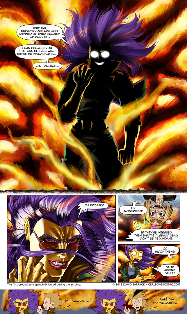Grrl Power #175 – Pose dramatically much?
