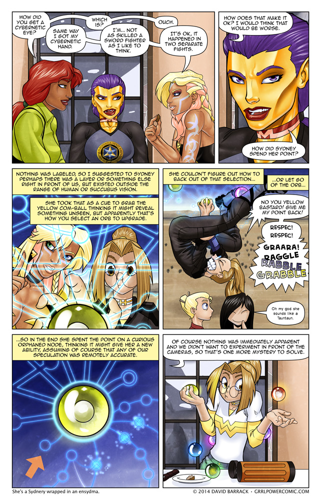 Grrl Power #183 – Confirm skill upgrade Y/N