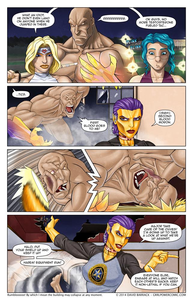 Grrl Power #203 – Backhands and commands