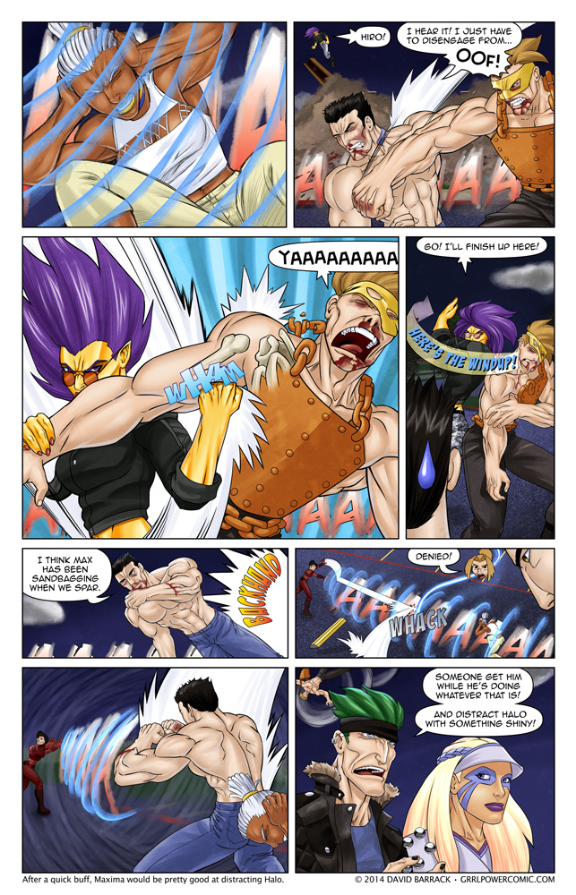 Grrl Power #230 – To the rescue!