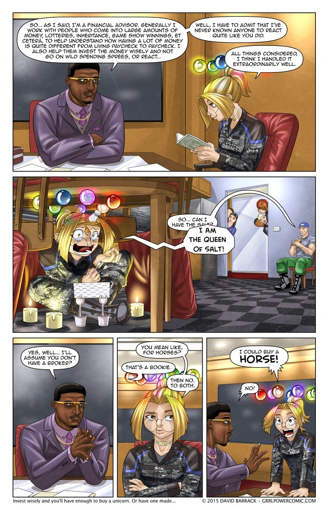 Grrl Power #347 – You could buy that, of course, of course