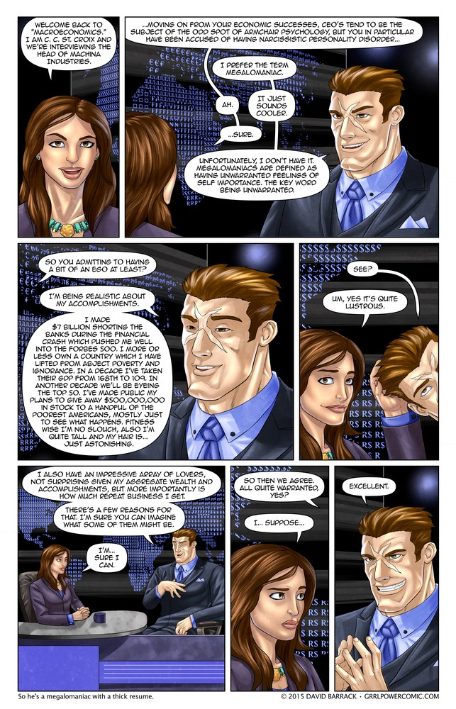 Grrl Power #386 – Aggrandizer-X!