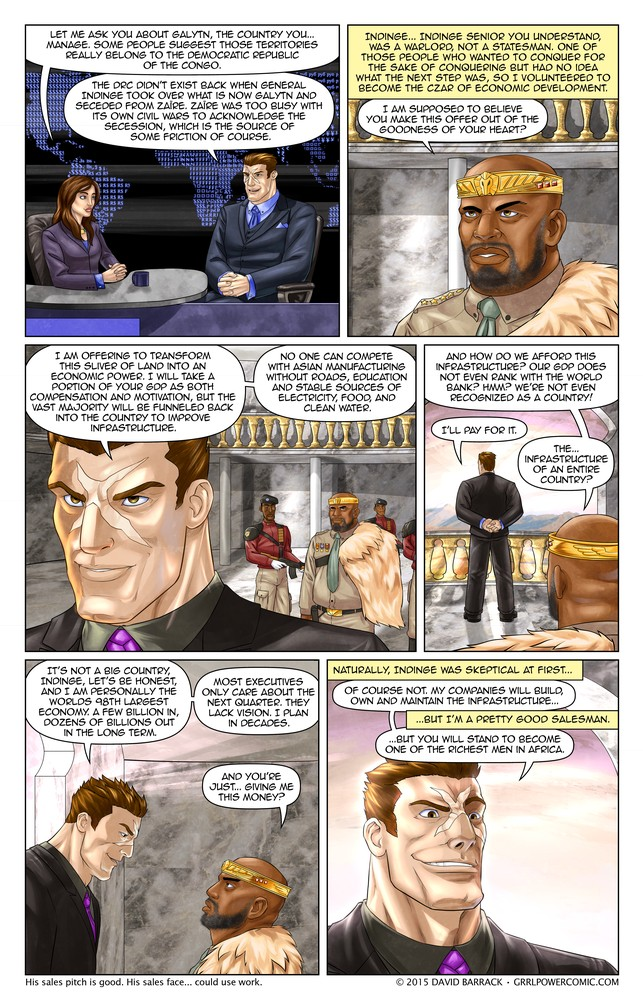 Grrl Power #387 – A noble investment embiggens the smallest wallet