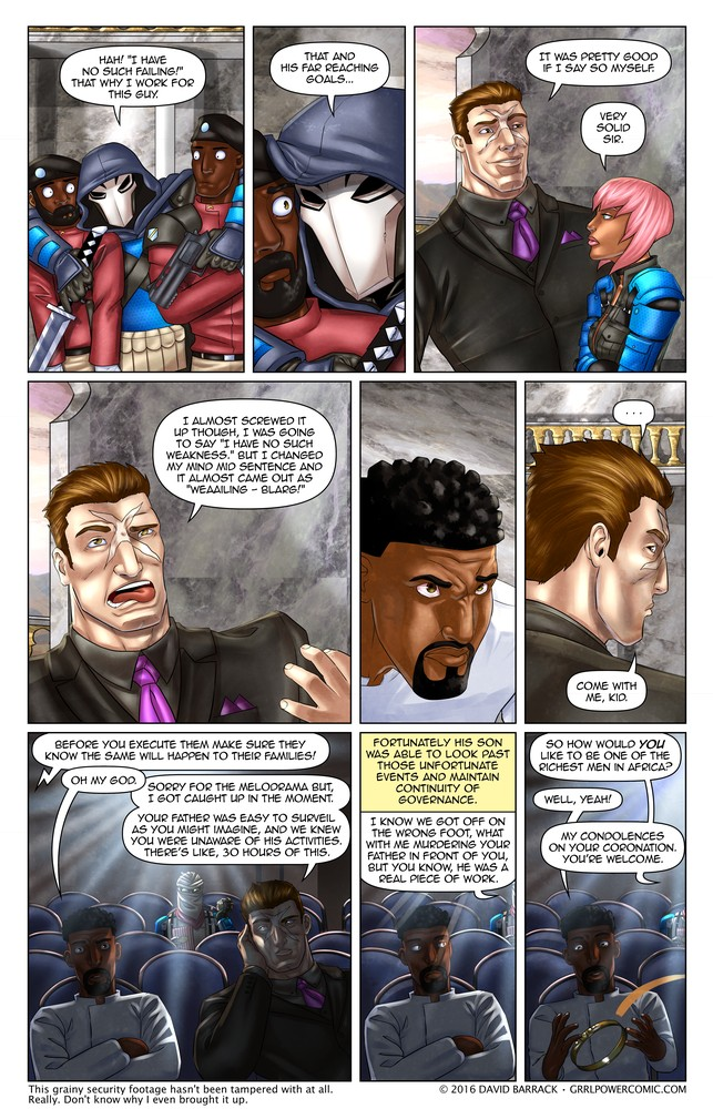 Grrl Power #392 – One liner post mortem