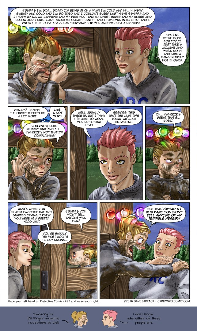 Grrl Power #401 – Bat pact