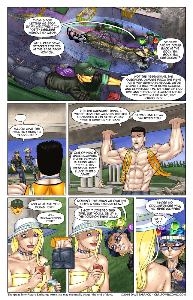 Grrl Power #403 – Wardrobe destruction
