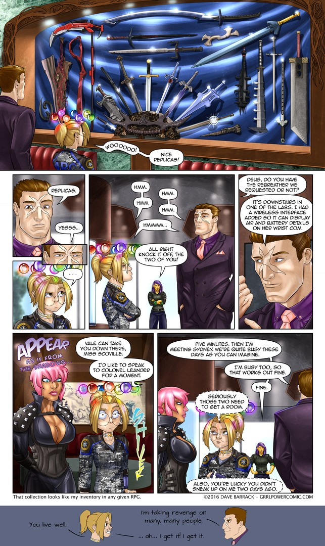 Grrl Power #408 – Oranges, Golds, and Purples