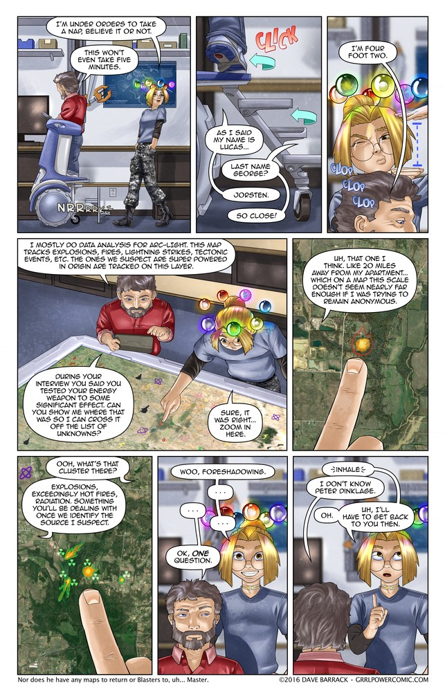 Grrl Power #432 – Claim your crater