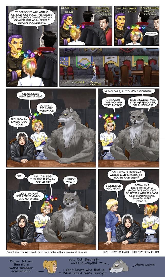 Grrl Power #445 – Hobnoblin