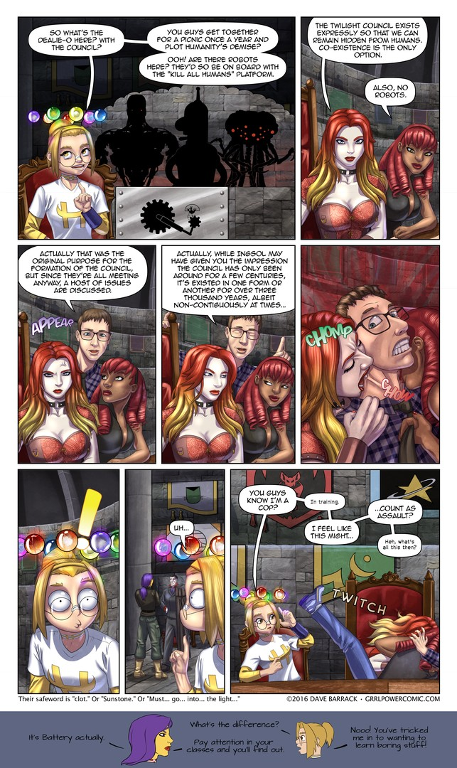 Grrl Power #452 – Aw, they packed a lunch