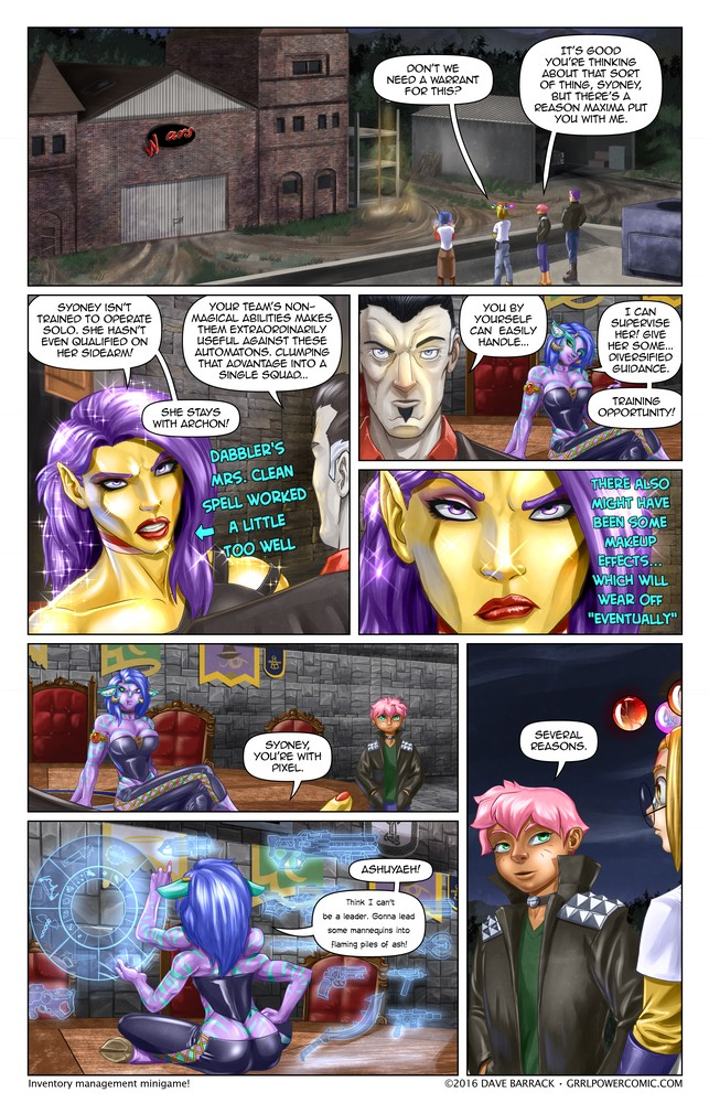 Grrl Power #490 – Team Lilliput