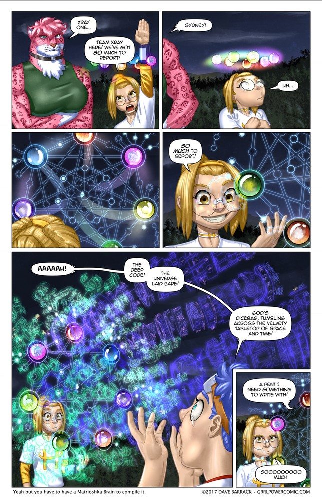 Grrl Power #506 – Square root access
