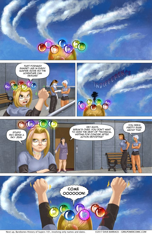 Grrl Power #548 – The sky has one star – according to Sydney's Yelp review