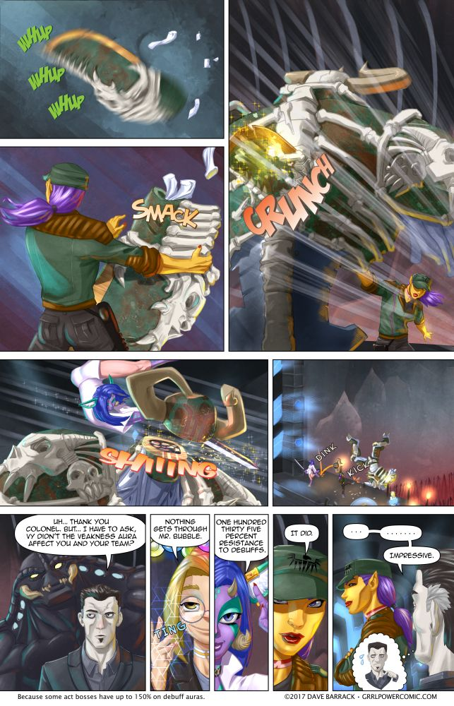 Grrl Power #559 – The guardian needed an upgrade anyway