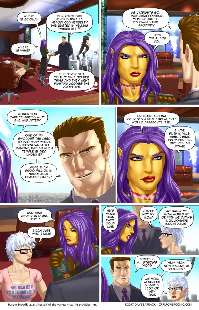 Grrl Power #603 – Schtooping with the frenemy