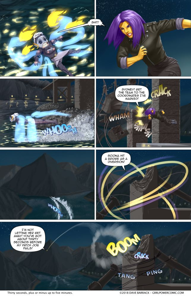 Grrl Power #616 – Superhero triage