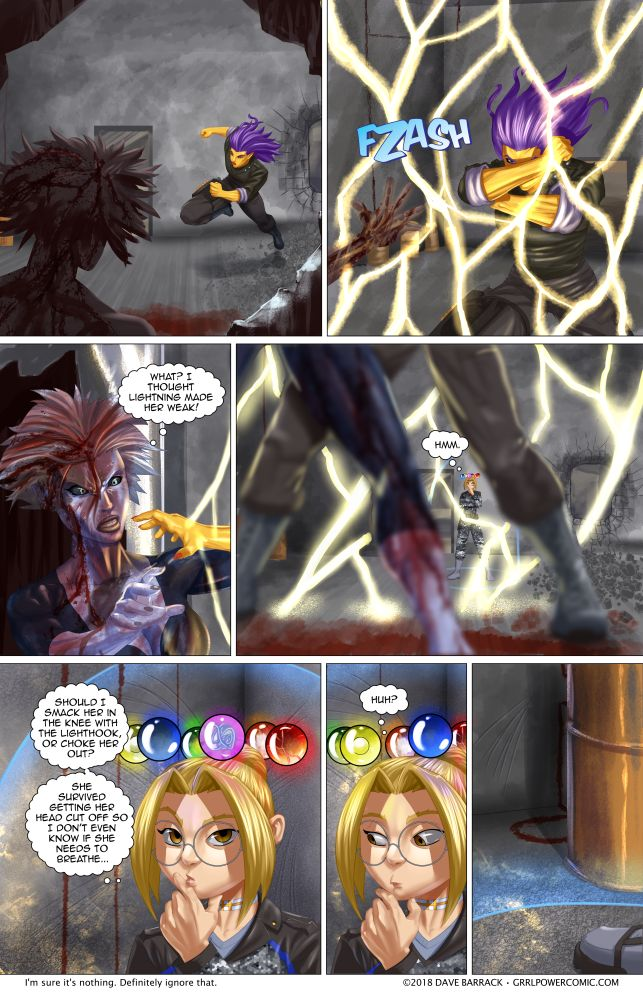 Grrl Power #630 – Roll for perception