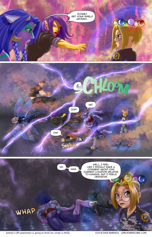 Grrl Power #634 – Have a nice trip, see you next fall