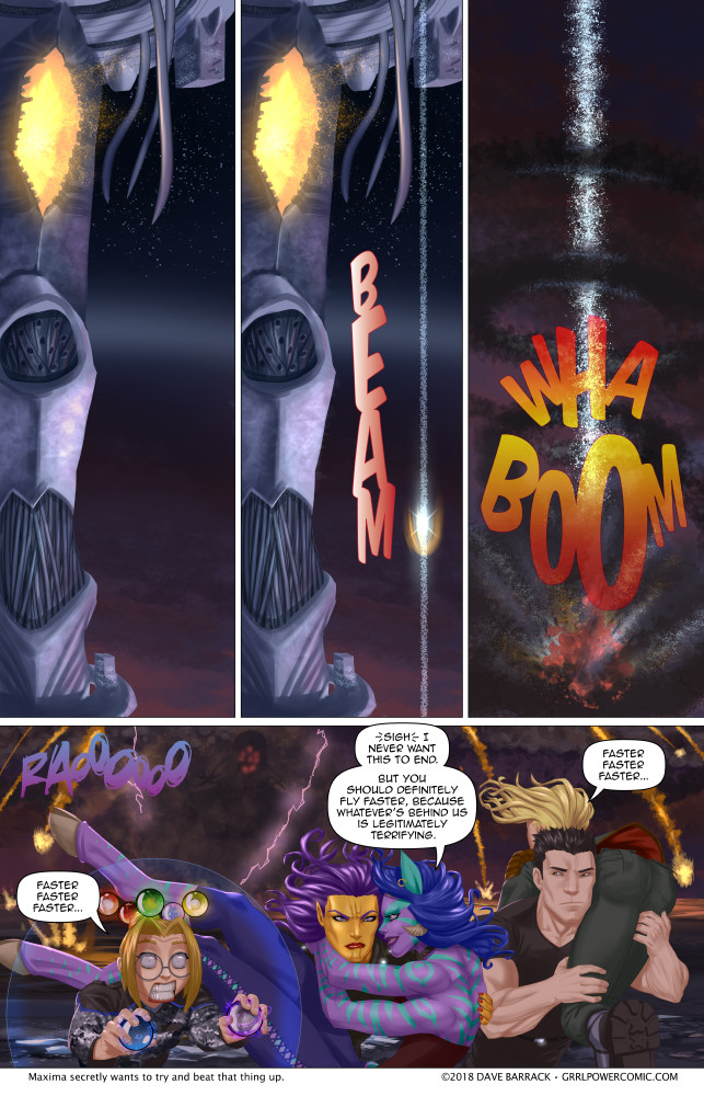 Grrl Power #643 – There ain't no party like a landing party…