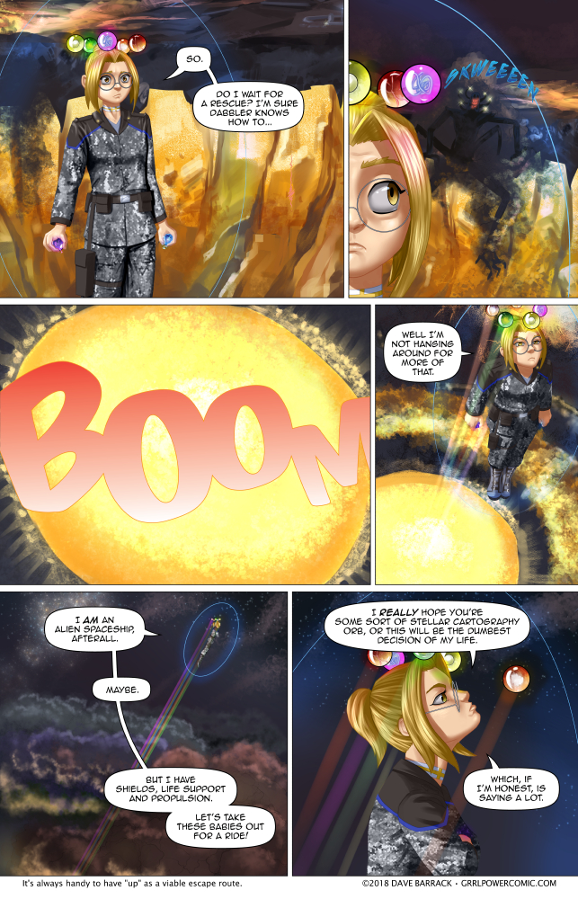Grrl Power #652 – Prepare for Warp 0.00000454
