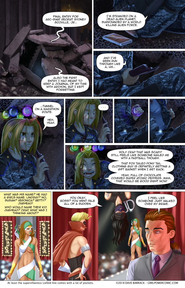 Grrl Power #661 – Melochondria