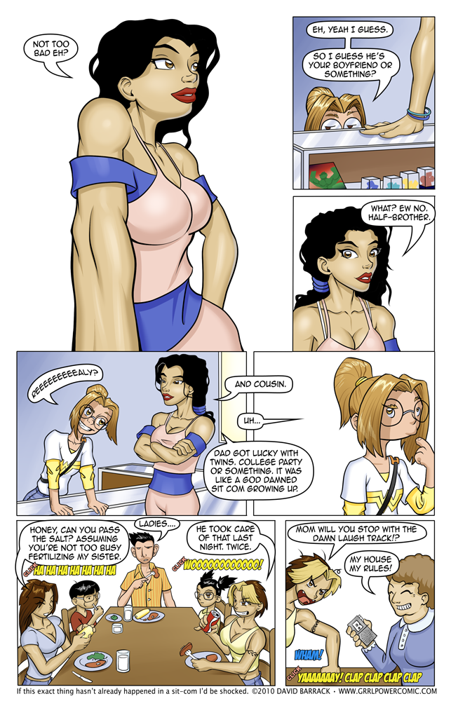 Grrl Power#19 – BYO Laugh Track