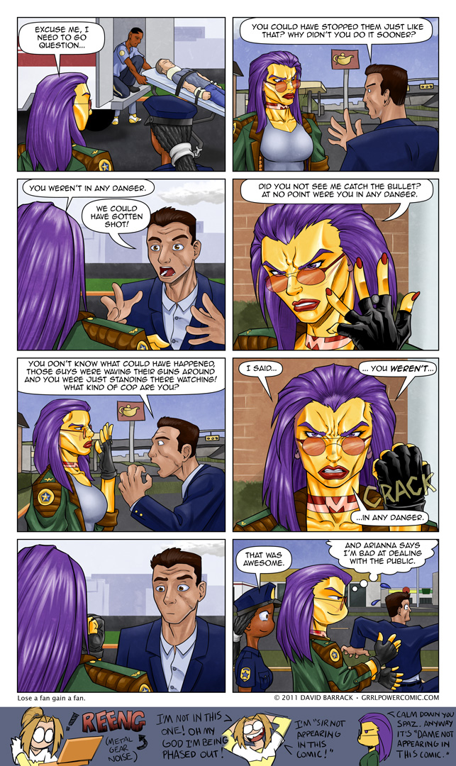 Grrl Power #51 – That's gratitude for ya.