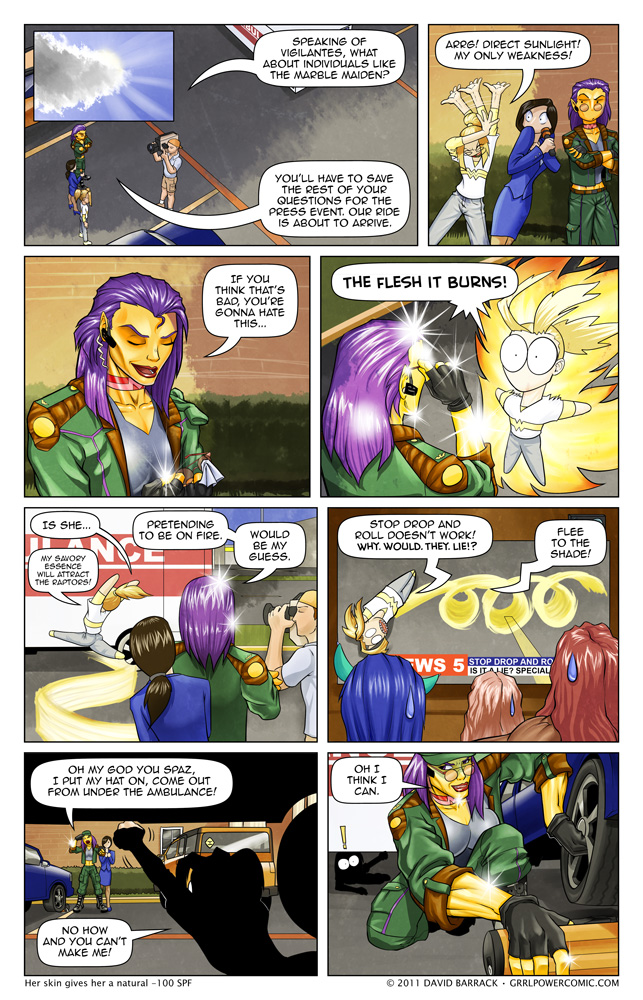 Grrl Power #65 – A slight overreaction