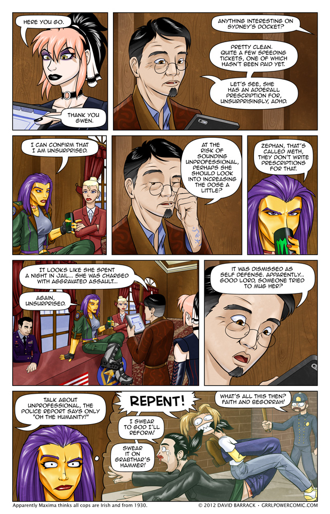 Grrl Power #79 – A History of Violence