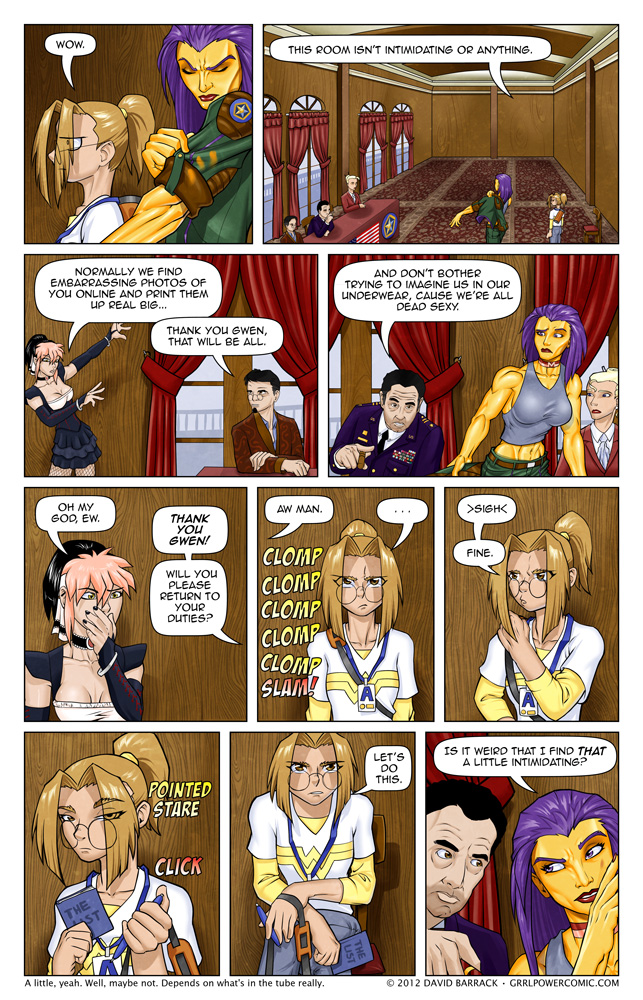 Grrl Power #82 – Who's interviewing who?