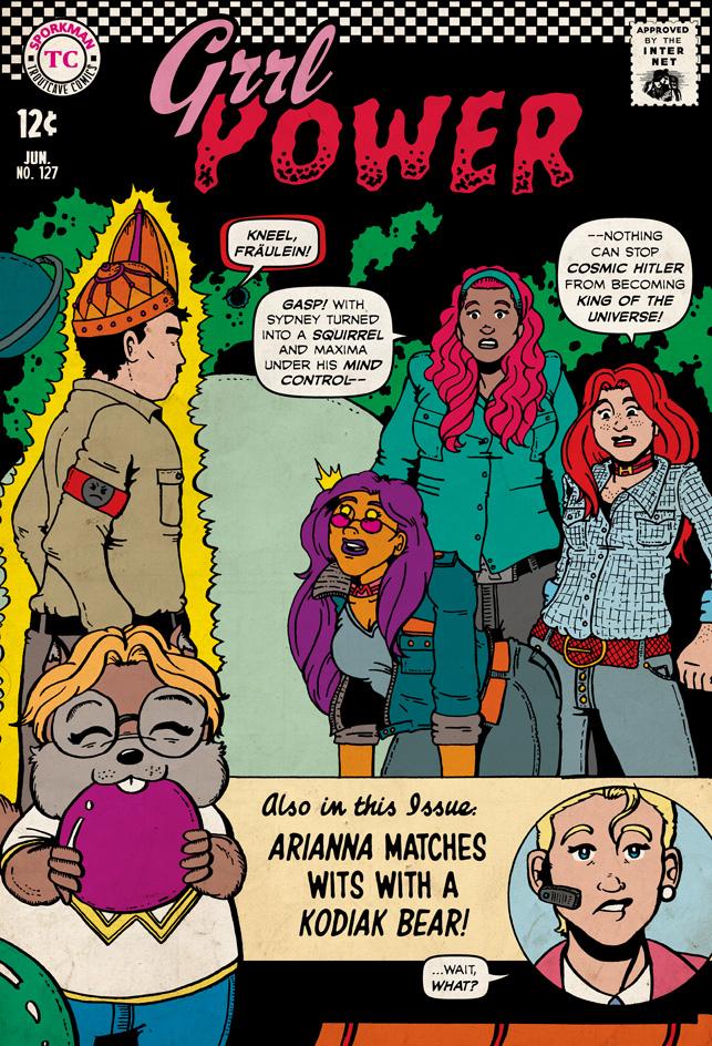 Grrl Power Guest Comic – John Troutman