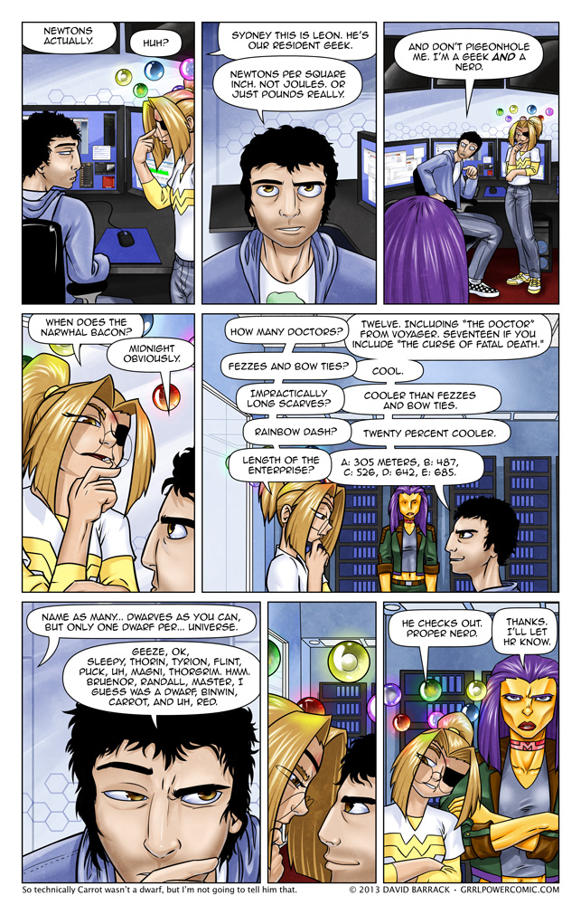 Grrl Power #123 – It's only trivia until you're quizzed on it